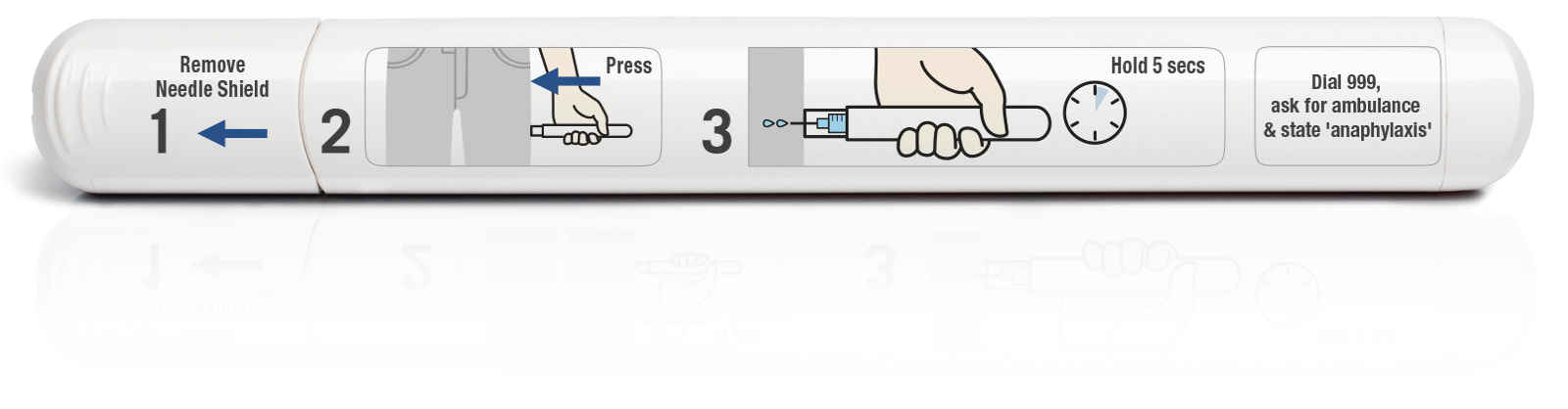 Emerade Adrenaline Auto Injector For Anaphylaxis